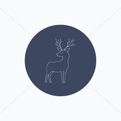 Stickers de naissance animaux de la forêt