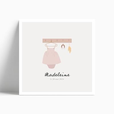 Faire-part de naissance Petite Robe