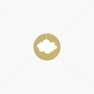 Stickers de naissance nuage pour garçon