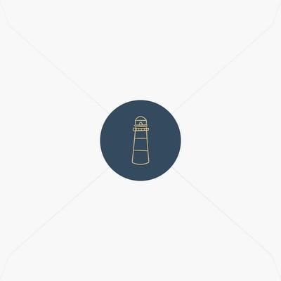 Stickers de naissance phare breton, ancre marine et/ou petite baleine