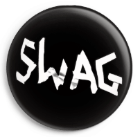 The Dirty Robbers SWAG 25mm Badge