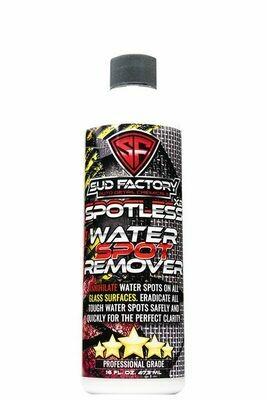 SPOTLESS X2 Glass Water Spot Eliminator / removedor de gota seca en vidrios.