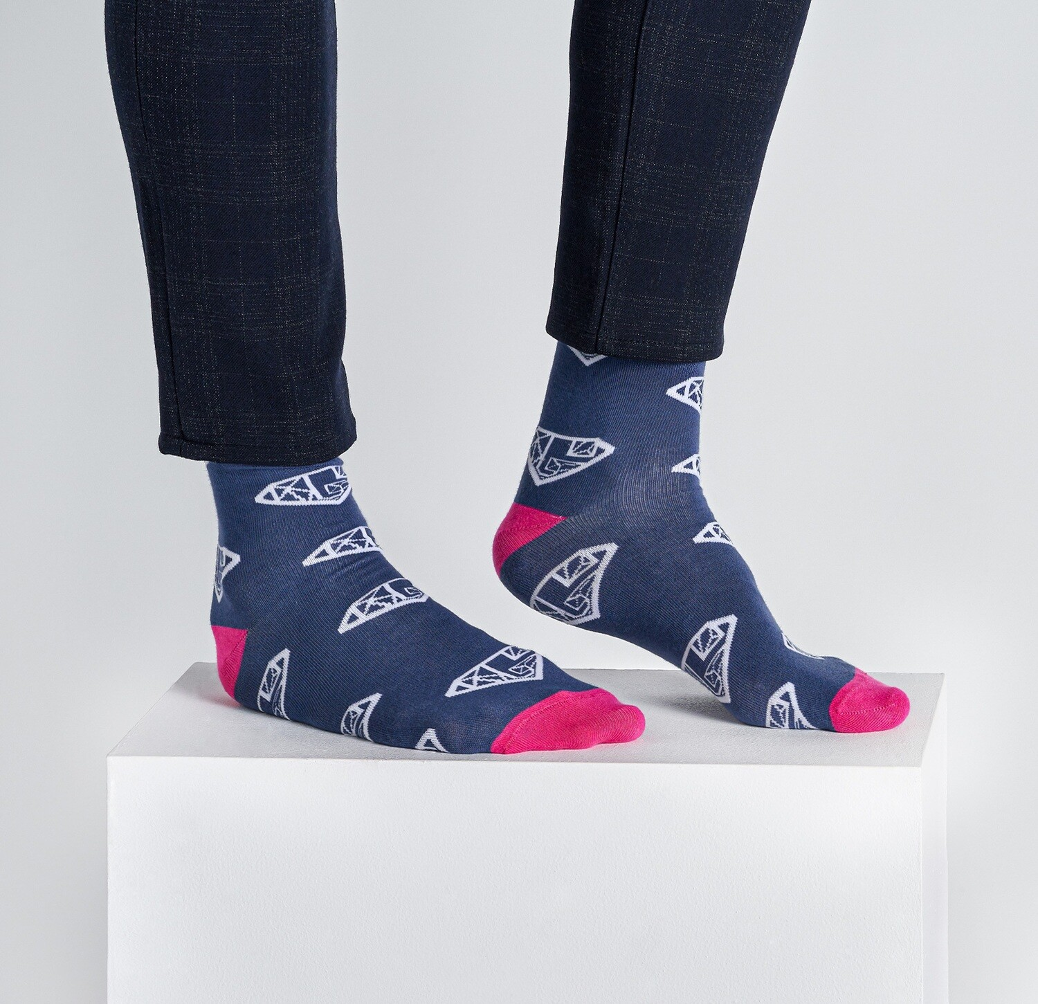 Sock Navy Blue