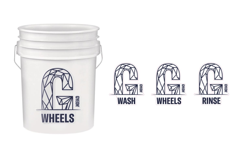 (Baldes) Wash Bucket Stickers