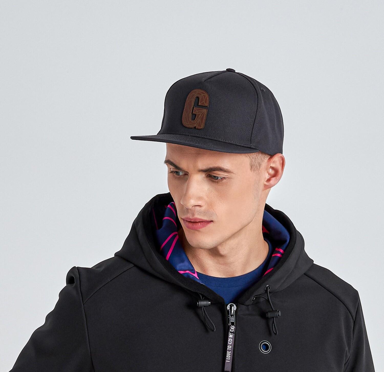 SNAPBACK dark grey gorra