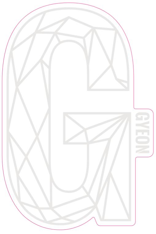 G Sticker White 200mm x 131,3mm