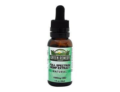 1500mg Green Remedy Full Spectrum Hemp CBD Extract – All Natural