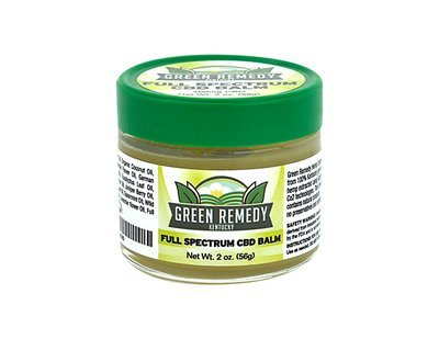 200mg Green Remedy Full Spectrum Hemp CBD Extract Balm