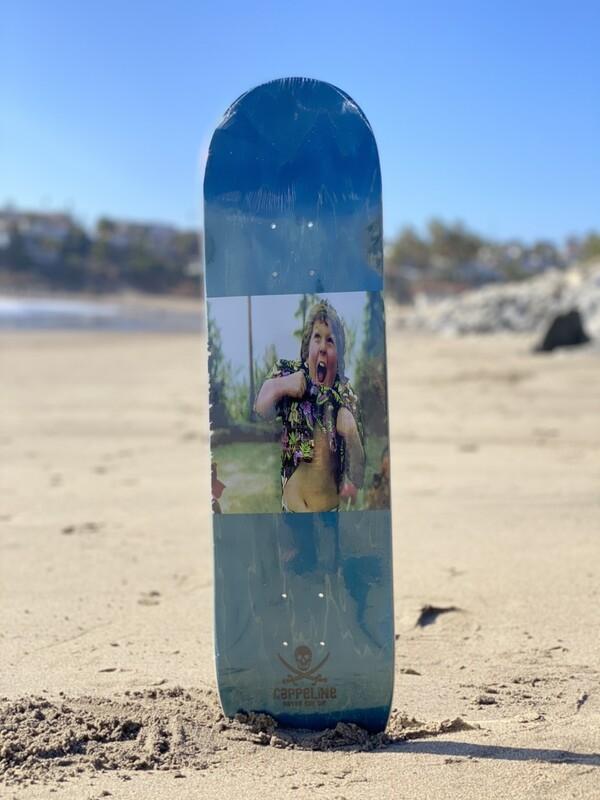 """Truffle shuffle"" skateboard deck size 7.75"