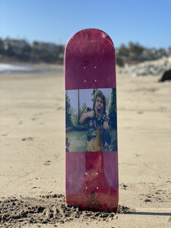"""Truffle shuffle"" skateboard deck size 8.50"