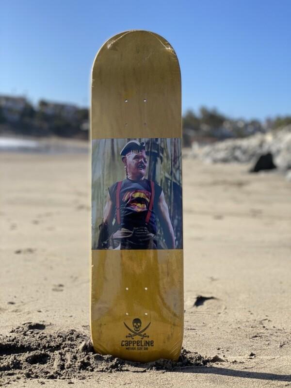 """""""Super Sloth"""" skateboard deck size 8.0"""