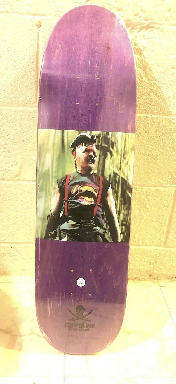 """Super Sloth"" skateboard deck *Fun shape*"