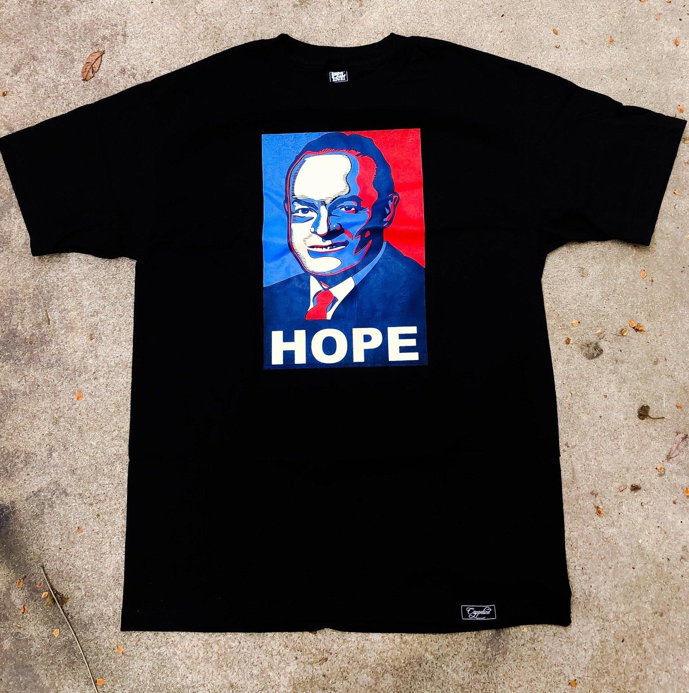 """""""Hope"""" tee-Black"""