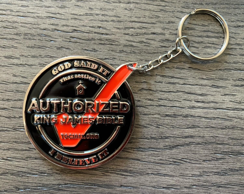 3  KJV1611 Keychains