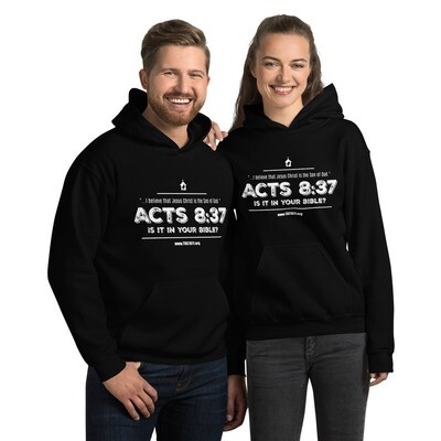 Acts 8:37 is it in your Bible? Hoodie