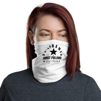 Unashamed Christ Follower Neck Gaiter Face Mask