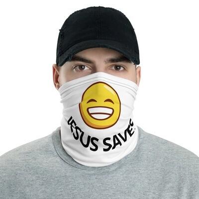JESUS SAVES Neck Gaiter Face Mask