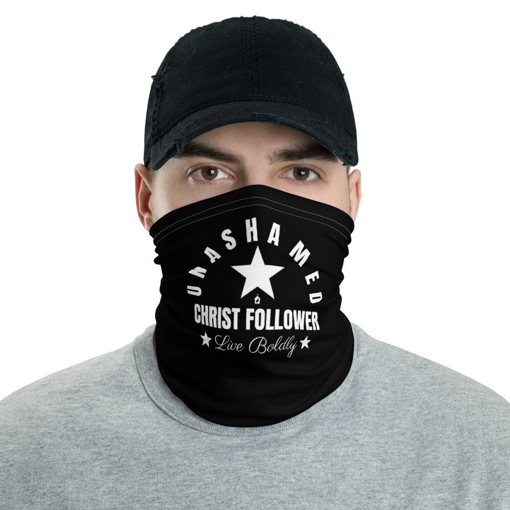 I'd Rather Have Jesus  &  Unashamed Neck Gaiter Face Mask Dual