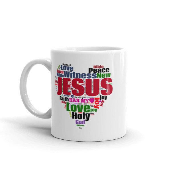 JESUS Has My Heart Mug
