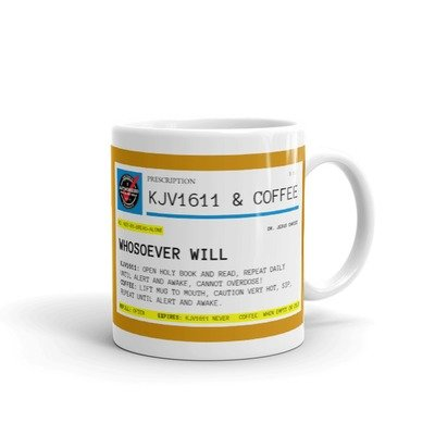 KJV1611 Prescription Coffee Mug