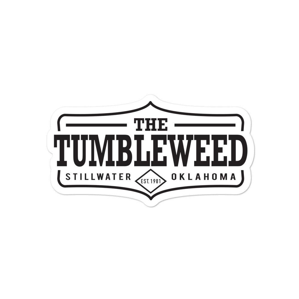 Tumbleweed Bubble-free sticker