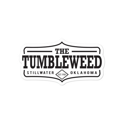 Tumbleweed Bubble-free sticker