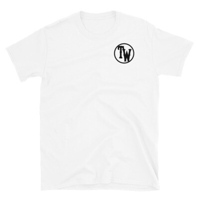 TW logo with Pick Design Short-Sleeve Unisex T-Shirt