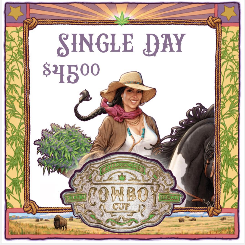 Cowboy Cup - Single Day Ticket