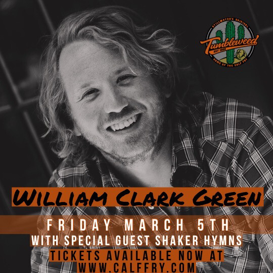 William Clark Green - Friday March 5 2021 DOS