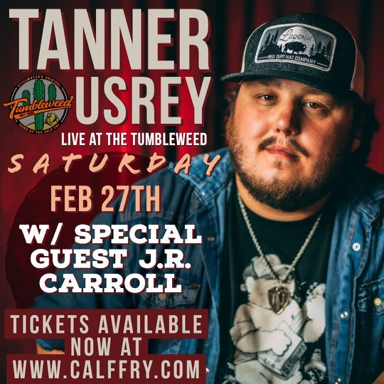 Tanner Usrey - Saturday , February 27th 2021