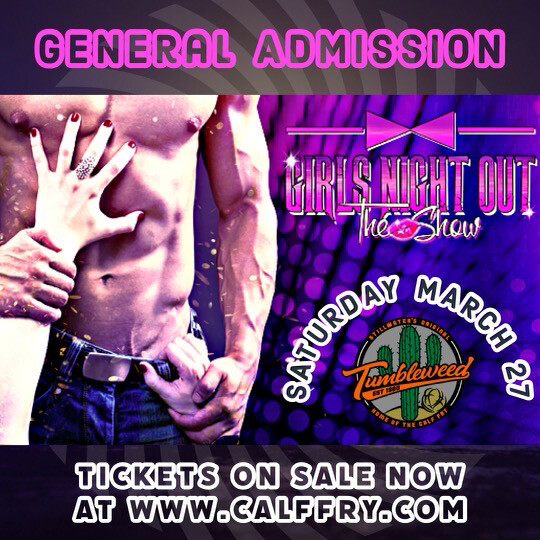 Girls Night Out General Admission (General Admission) Saturday March 27th 2021