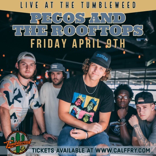 Pecos & The Rooftops w/ Corey Kent - Friday April 9th 2021 DOS