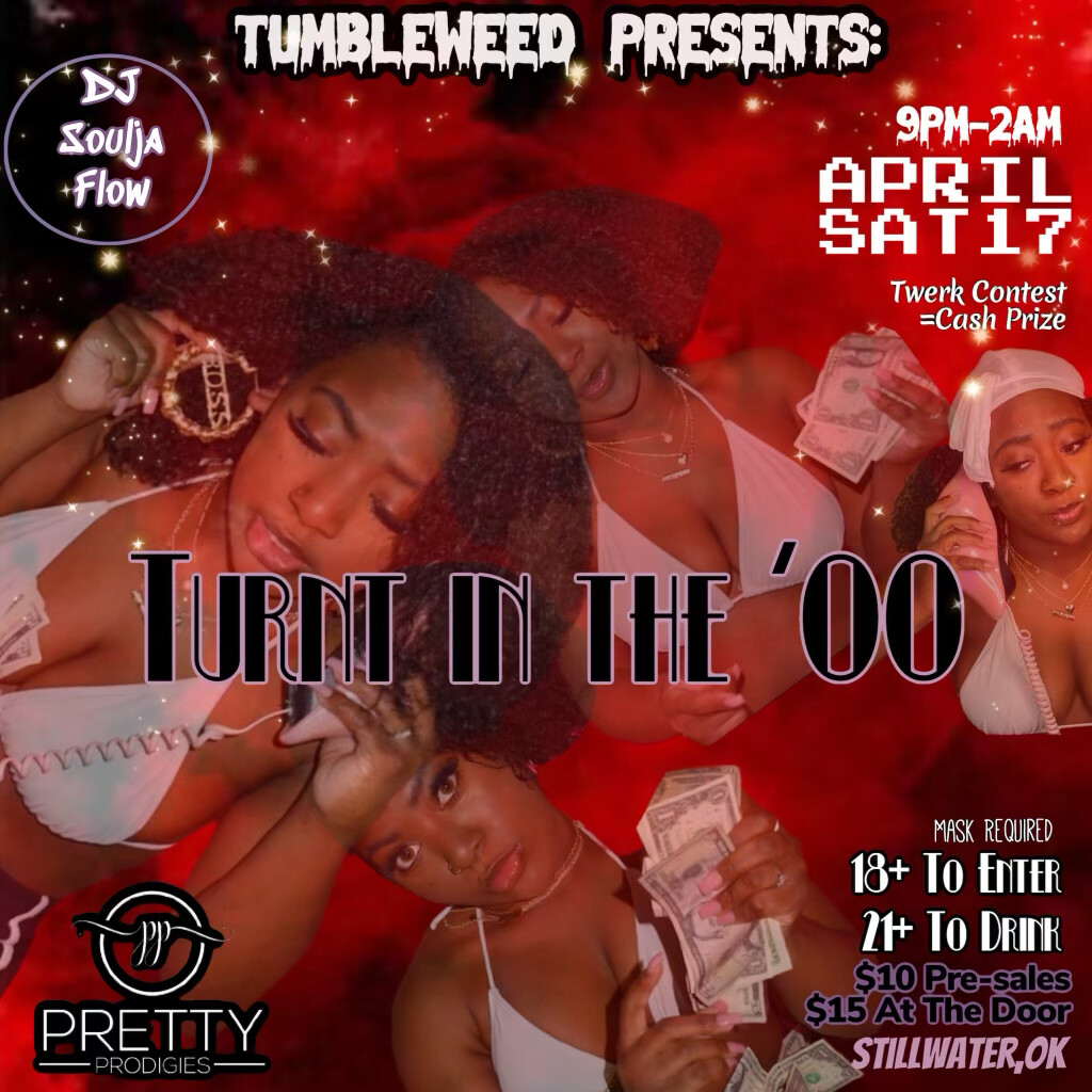 Turnt In The 00 Saturday, April 17th 2021 DOS