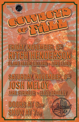 Cowboys of Fall (2 Day Ticket) November 5th AND 6th