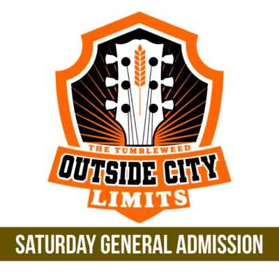 """OCL"" Outside City Limits 2021 GA SATURDAY Ticket - $50.00"