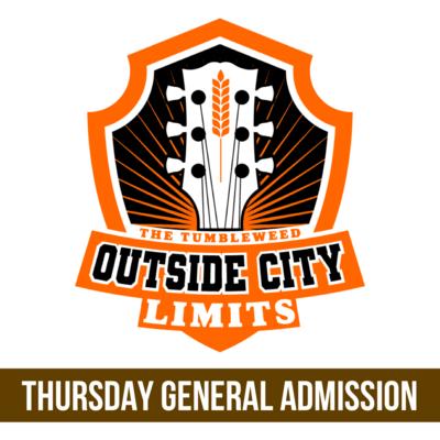 """OCL"" Outside City Limits 2021 GA THURSDAY Ticket - 40.00"
