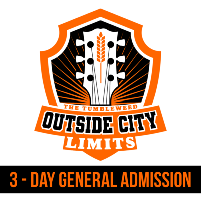 """""""OCL"""" Outside City Limits 2021 3 Day - General Admission"""