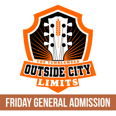 """OCL"" Outside City Limits 2021 GA FRIDAY Ticket - $45.00"