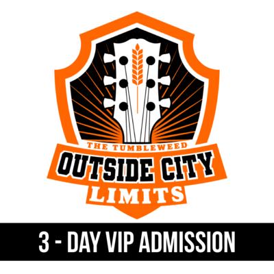 """OCL"" Outside City Limits 2021 3 Day - VIP"