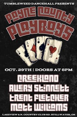 Payne County Playboys - Friday October 29 2021