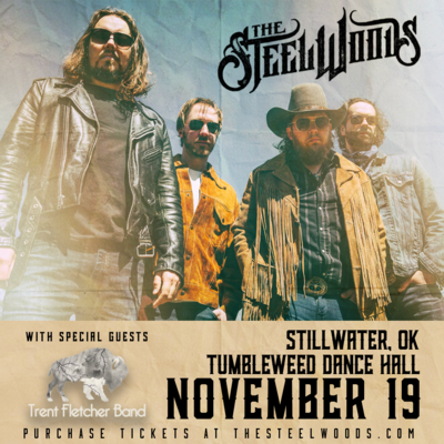 The Steel Woods with Trent Fletcher Band  - Friday November 19 2021