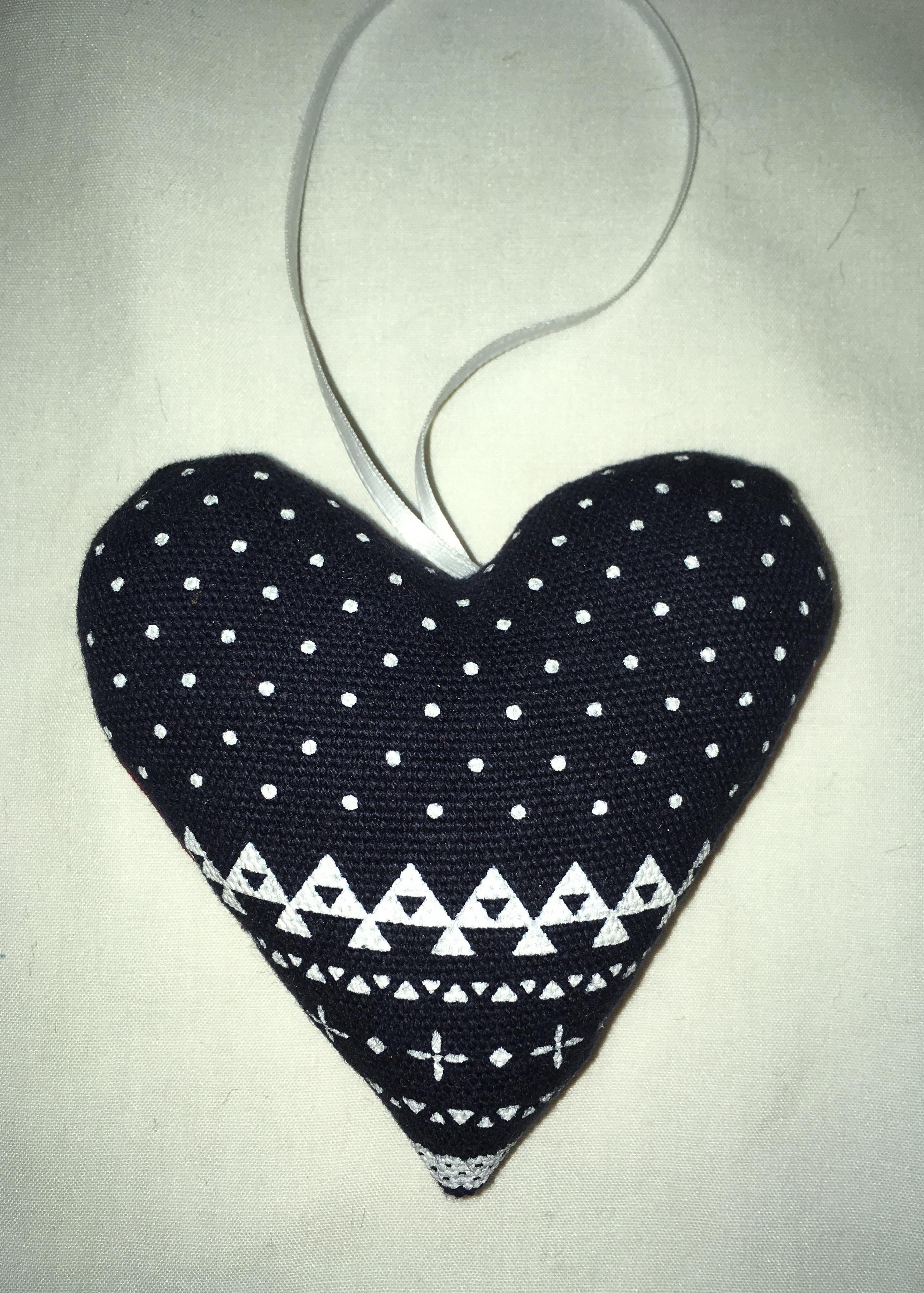 Heart Ornament 005