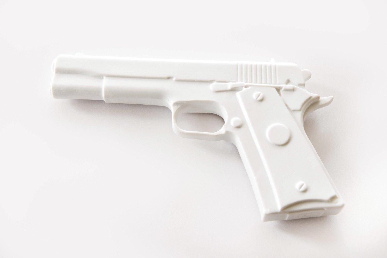 Glock #sansgachette - Porcelaine