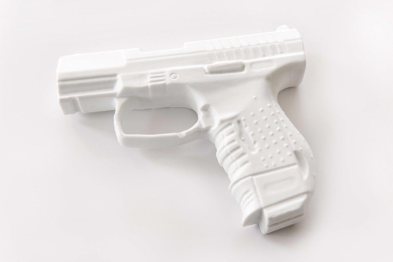 Walther P22 #sansgachette - Porcelaine
