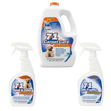 Pet Package Carpet Cleaning Bundle w/ FREE SHIPPING!