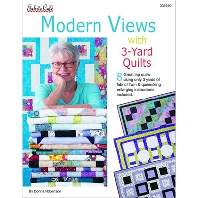 Modern Views with 3-Yard Quilts Pattern Book by Fabric Cafe