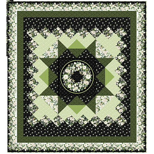 Bouquet Medallion Kit by Michel Design Works for Northcott