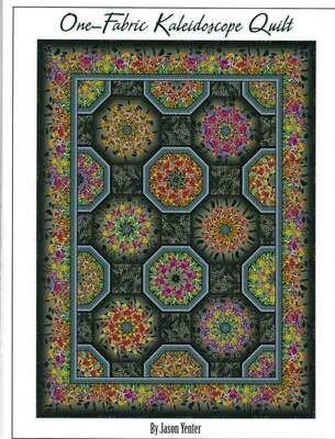 One Fabric Kaleidoscope, quilt, pattern, In the Beginning, Jason Yenter