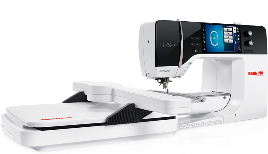 BERNINA 790 Finest Machine for Sewing & Embroidery