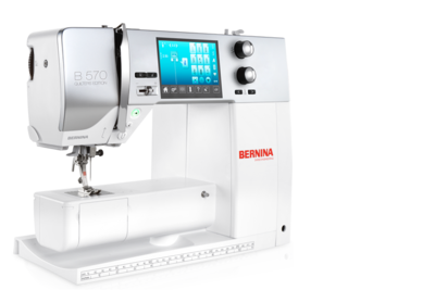 BERNINA 570 QE EMBROIDERY MACHINE